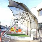 The sculpture Our People — Time and Place in Invercargill's Don St will be removed to make way...