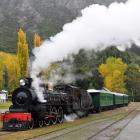 The Kingston Flyer goes through Kingston carrying its first paying passengers for eight years in...