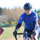 Avril Lane  was one of only two female cyclists competing in the fastest farmer section of the...