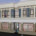 Concept plans for the new development in Oamaru's Thames St. PHOTO: SUPPLIED