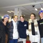 The McCallums and friends (from left) Tracy McCallum, Tess Jago, Libby McCallum, Alannah Aylward...