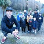 Gorge Road Jump Park designer and builder Nathan Greenwood is rallying support to save it from...