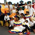 Colombian culture was showcased as part of Colombian Independence Day celebrations in...