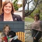 Women councillors from Southland (clockwise from top left) Rebecca Amundsen, Julie Keast and...