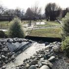 Rain last week caused another sediment overflow from the Wanaka Alpha Series subdivision...