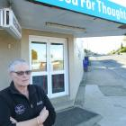 Clinton Food for Thought dairy owner Jo-anne Thomson stands outside her State Highway 1 store...