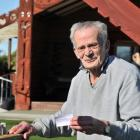 Karitane resident Brian Fitzsimmons (76) is all smiles after he received his first Covid-19...