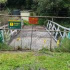 Doc wants to remove Goys Track Bridge in Waipori Falls, which provides access to the self...