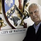 "Former Waitākere City Mayor Sir Bob Harvey: ""I consider Tim's memorabilia priceless to this..."