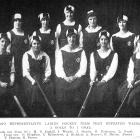 The Otago hockey team that defeated Wairarapa 2-1 (from left; back row) M.D.Coghill, J.Wright, J....
