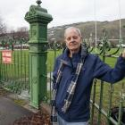 Darrell Latham wants the St Leonards Park gates repaired as they are an important part of Sumner...