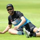 Kane Williamson at training after the first test. Photo: Getty Images