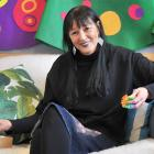 Sitting in the Whaiora Room at Otago Girls' High School, one of the many spaces used for her...