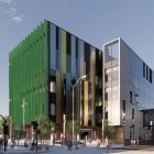 An artist's impressions of what the exterior and interior of the new Dunedin Hospital outpatient...