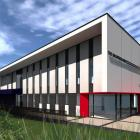 An artist's impression shows what the Salvation Army's new purpose-built community facility,...