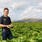 Hawke's Bay buttercup squash grower Shane Newman. Photo: Supplied / MPI