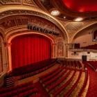 The $100,000 custom-made waterfall curtain for the Regent Theatre stage was paid for by funds...