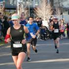 Participants in the 2019 Dunedin Marathon make their way around the course. PHOTO: THE STAR FILES...