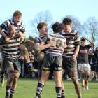 Christ's College are closing in on their first Crusaders region 1st XV title after eliminating St...