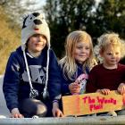 Young entrepreneurs (from left) Niamh, Huia, Tova and Alexia White are behind The Wonky Plait in...
