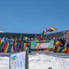 Skiers gather during last year's event. Photo: Supplied