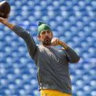 Green Bay Packers quarterback Aaron Rodgers. Photo: Reuters