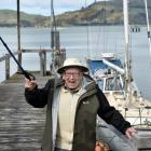 Celebrating a life spent working on boats at his little shipyard in Careys Bay is Bill McIndoe by...