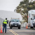 The border at Mercer, Waikato.