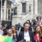 A petition supporting a ban on gay conversion therapy with over 150,000 signatures was handed to...