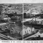 Invercargill in 1921, viewed looking east from the water tower. — Otago Witness, 20.9.1921.
