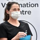 Musselburgh Medical Centre practice nurse Kate Theunissen is ready, willing and able to dispense...