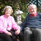 Frances and Jim Gear relax at their Invercargill home yesterday.PHOTO: KAREN PASCO