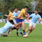 North Otago's player of origin Levi Emery made several good breaks on debut on Saturday. PHOTO:...