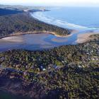 An aerial photo of Papatowai, in the Catlins. Photo: Stephen Jaquiery