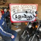 Classic scooter enthusiastic Paul van Klink has been organising the Upper Clutha Scooter Hooter...