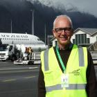 New CEO Glen Sowry's first day on the job at Queens town Airport . PHOTO: CASS MARRETT