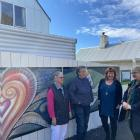 Working on adapting the Dunedin Night Shelter's approach to its annual appeal week are (from left...