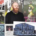 Save Dunedin Live Music spokesman David Bennett outside Starters Bar, which, as The Oriental,...