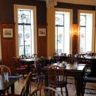 The scene at Etrusco restaurant, Moray Pl, Dunedin, in the Savoy Building. Photos by Peter McIntosh.