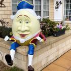Humpty Dumpty. Photo: Geoff Sloan