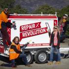 The Wastebusters repair crew. Helping the community repair things is closer ...