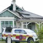 A family home in Clyde St, Balclutha, has extensive damage to the roof space following a fire...