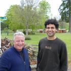 Business partners Gary Goodfellow (left) and Jas Chahal have taken on Lawrence's Gold Park Motor...