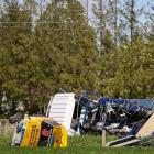 Emergency services responded to a crash between a truck and a ute in Canterbury this morning....