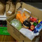 Increasing numbers of households have been turning to foodbanks during the pandemic. Photo: RNZ