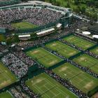 The All England Club wants to add 39 new courts and expand its existing 42-acre site. PHOTO:...