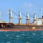 The bulk carrier Alam Seri (pictured in 2017) was entering Bluff Harbour in 2018 when it drifted...