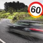 The speed limit in Mt Cargill Rd is set to be reduced to 60kmh later this year. PHOTO: GERARD O...