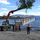 After a three-week onshore refurbishment, the Ruby Island jetty was delivered back on to Lake...