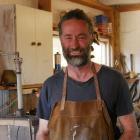 Artisan William Murray was inspired by his father to start making knives. PHOTO: RUBY HEYWARD